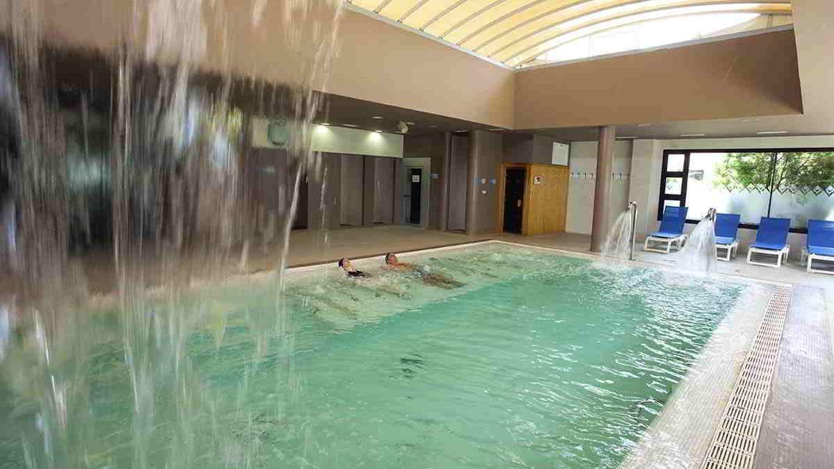 Instalaciones del balneario.