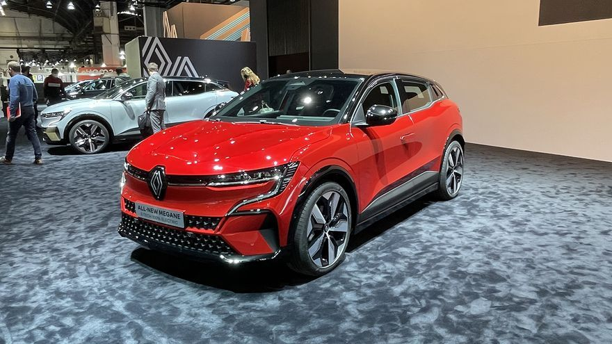 Novedades del Automobile Barcelona 2021: Renault Mégane E-Tech Eléctrico