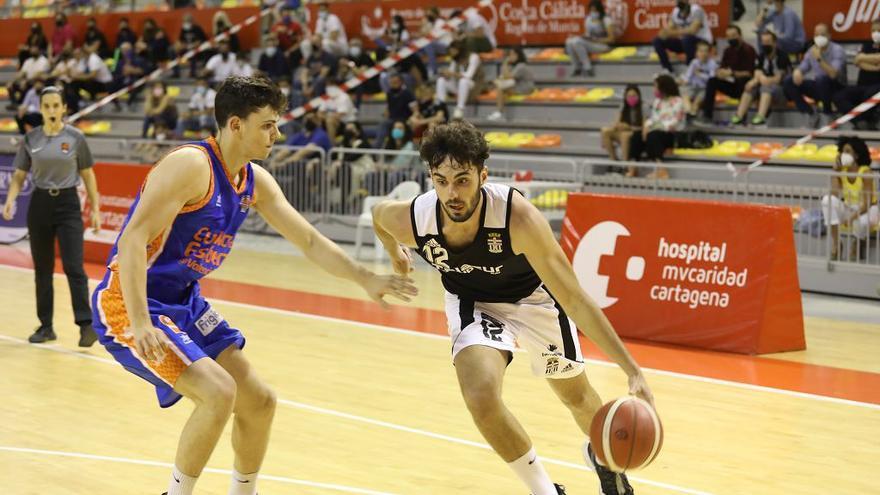 Cartagena-Valencia CB en el Palacio de los Deportes
