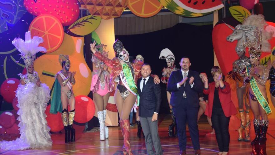 Drag Vulcano se alza con la corona en el carnaval de Gáldar