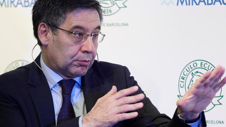 Bartomeu: «Les formes de Sarabia no corresponen a un club com el Barça»