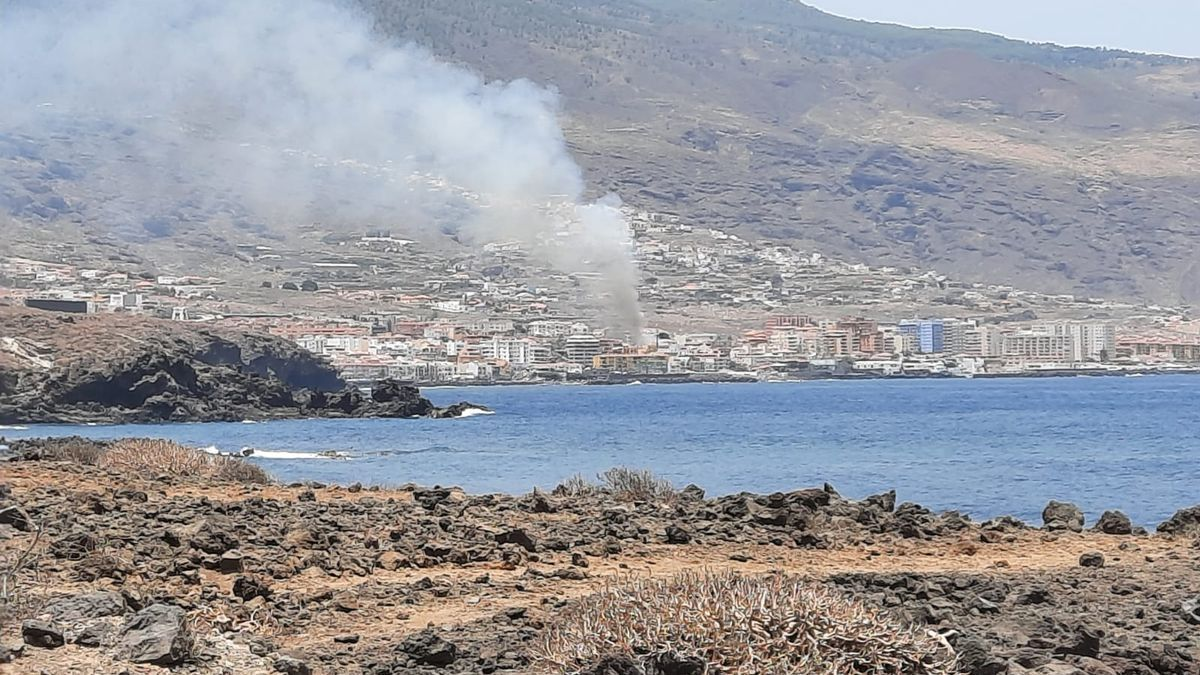 Tenerife y La Palma sufren tres conatos de incendio en una jornada de mucho calor