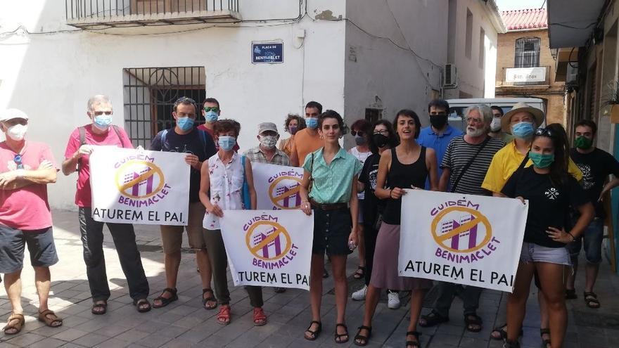 Compromís condena el vallado y movimiento de tierras de Metrovacesa en el PAI de Benimaclet