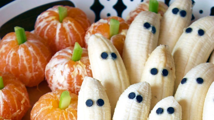 Las 8 recetas más saludables para celebrar Halloween con los niños