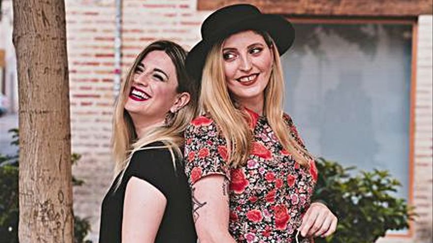 Concert a Oliva del duo The Umbrellas per reivindicar el  paper de les dones