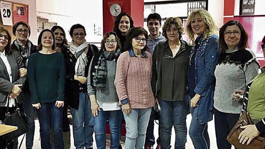 El PSOE, con las trabajadoras de limpieza