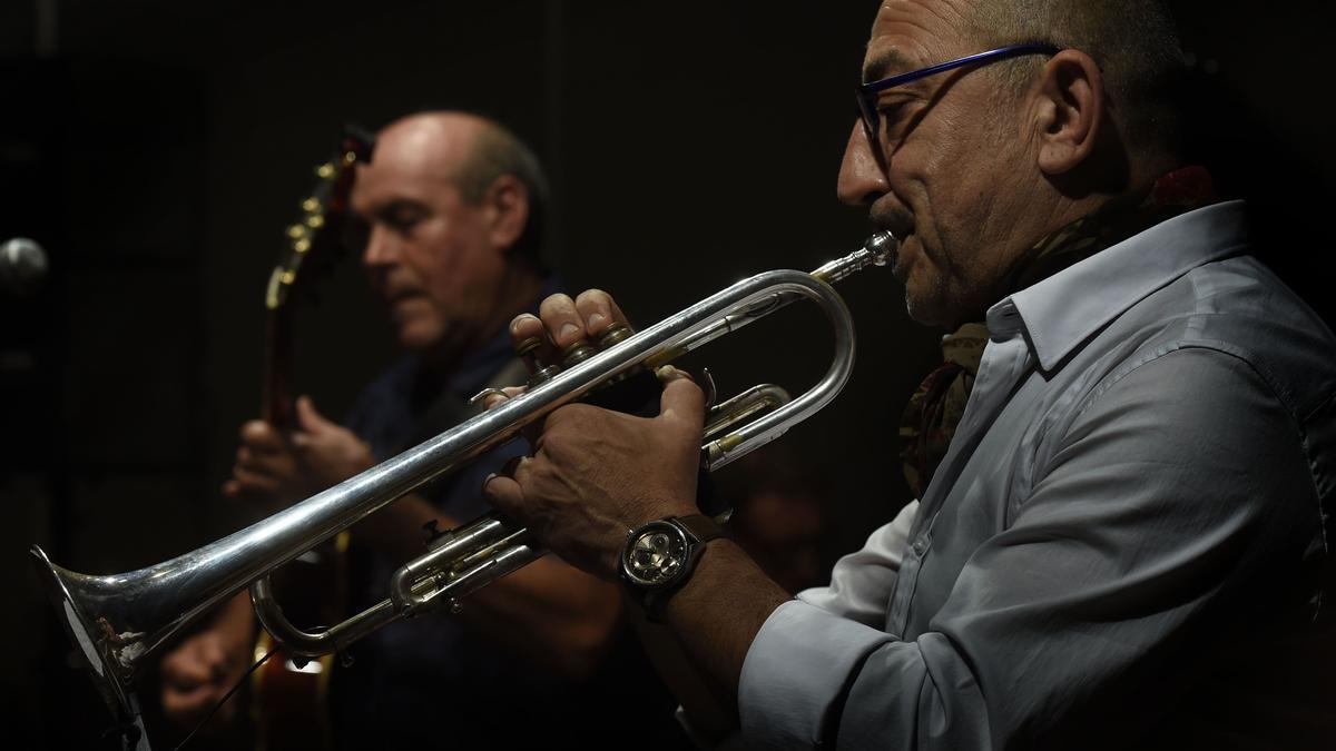 El prestigioso trompetista italiano Franco Baggiani