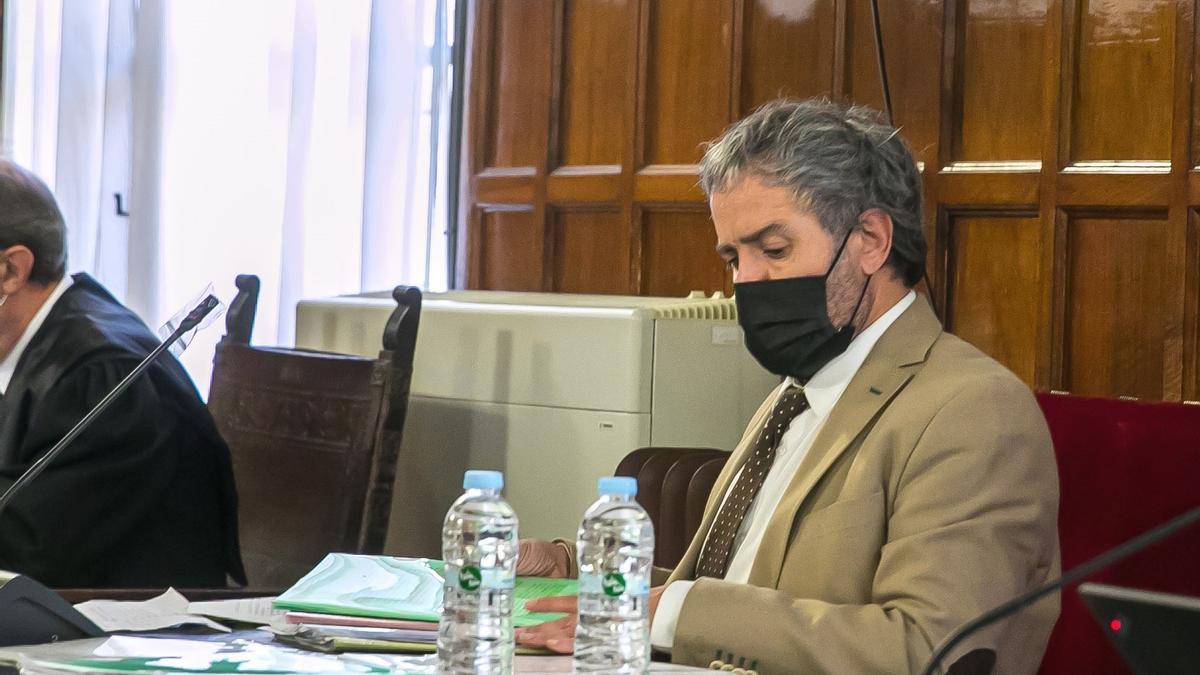 El abogado de Rodrigo Lanza, Endika Zulueta.