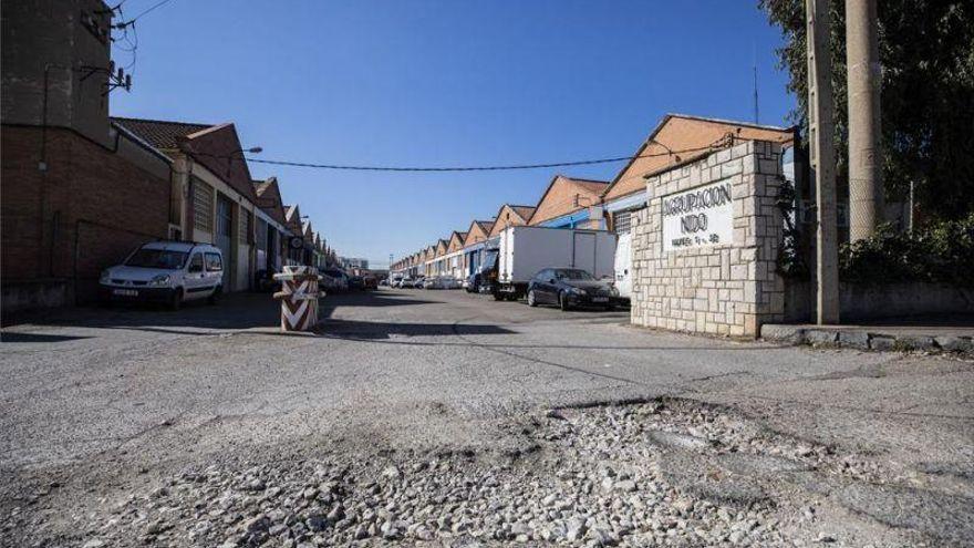 La estafa del asfalto llega a los polígonos empresariales de Aragón