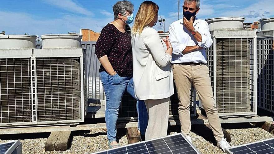 Energia solar a la Biblioteca Fages de Climent