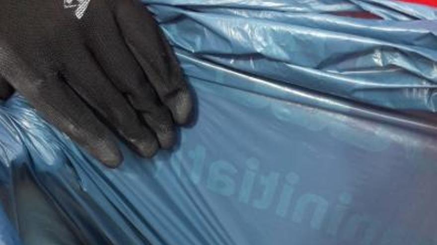 Dieciocho kilos de basura en San Lorenzo