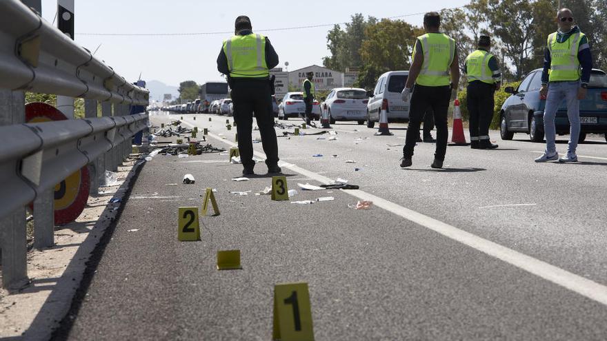 Una conductora ebria y drogada mata a dos ciclistas en Oliva