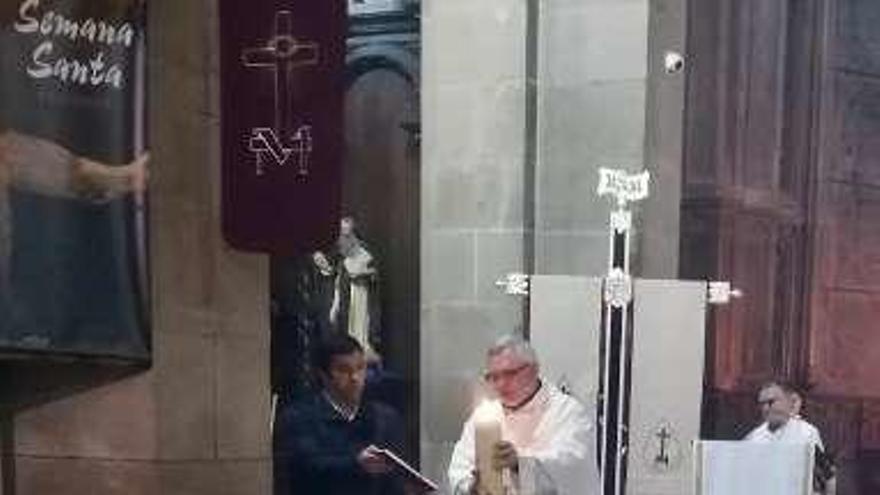 Un Domingo de Resurrección inusual en las iglesias de las comarcas