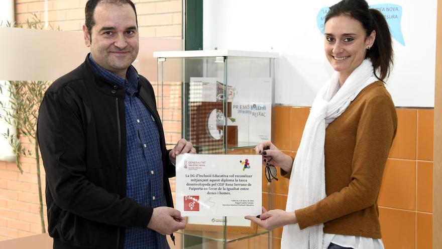 El CEIP Rosa Serrano, ejemplo de buenas prácticas educativas y de coeducación
