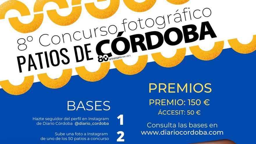 Diario CÓRDOBA te invita a participar en el 8º Concurso Fotográfico Patios de Córdoba
