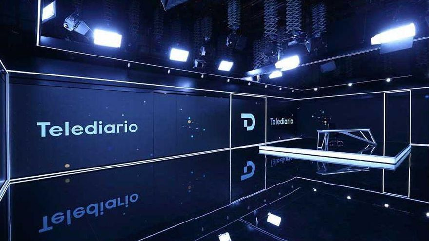 TVE moderniza la imagen de sus telediarios