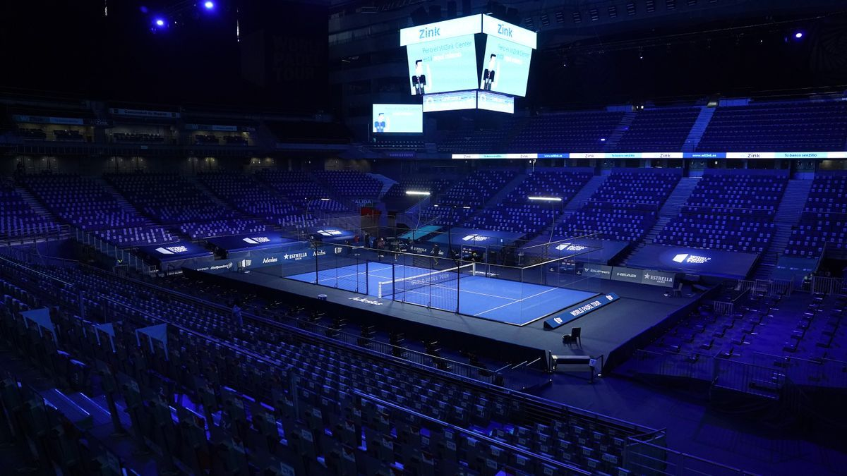 Pista del Madrid Open 2021.