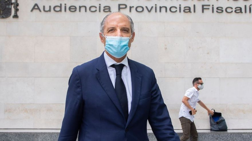 El ex presidente Francisco Camps deja su cargo en el Consell Jurídic Consultiu