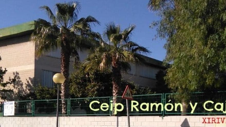 El PP denuncia la pérdida de un aula en el CEIP Ramón y Cajal de Xirivella