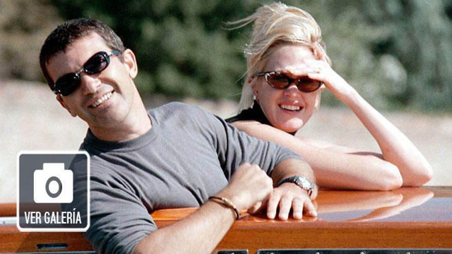 Melanie Griffith celebra su 59 cumpleaños recordando a Antonio Banderas