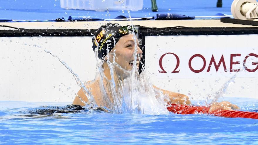 Nuria Marquès gana la medalla de plata en los 100 espalda en la clase S9