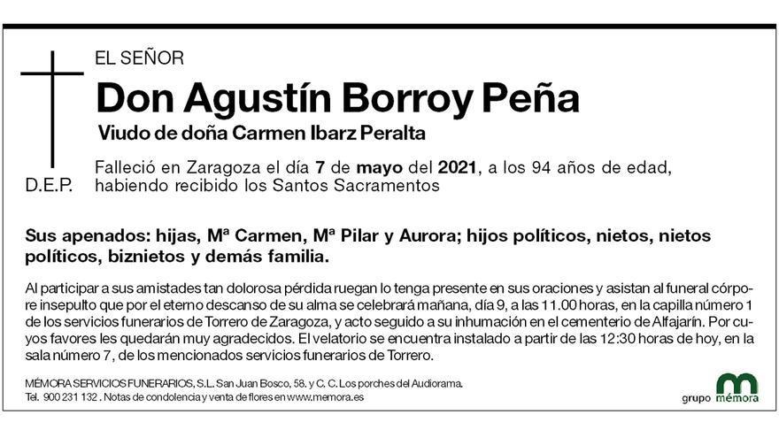 Agustín Borroy Peña