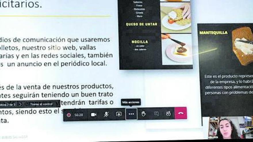 El IES León Felipe de Benavente (Zamora) consigue una mantequilla más cómoda de untar