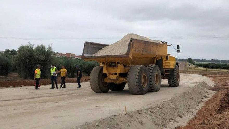 Empiezan las obras de la carretera de circunvalación de Valdetorres
