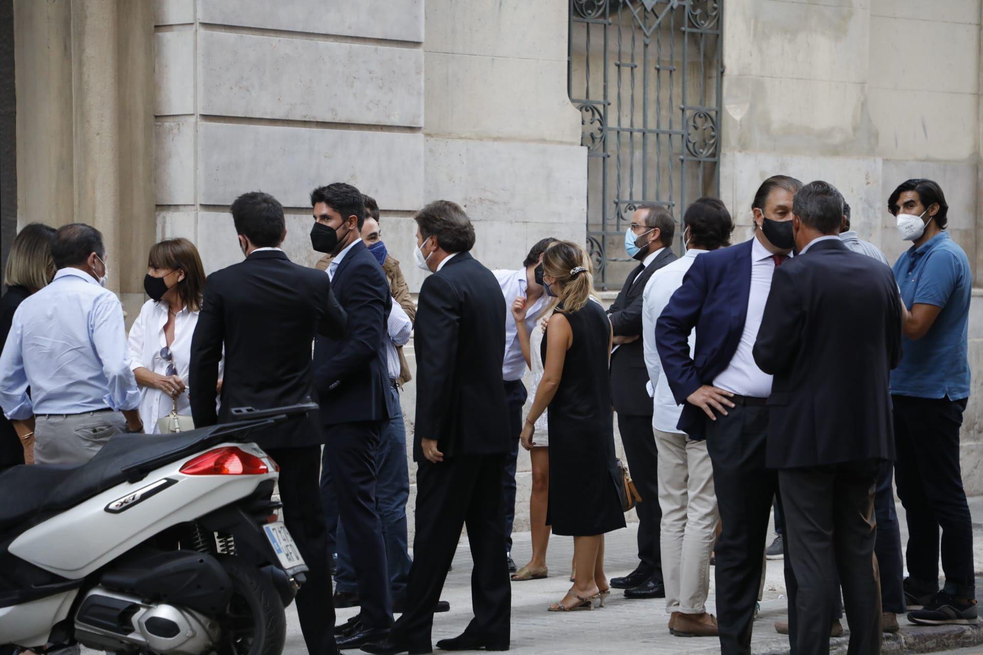 Empresarios y familia despiden a Bautista Soler