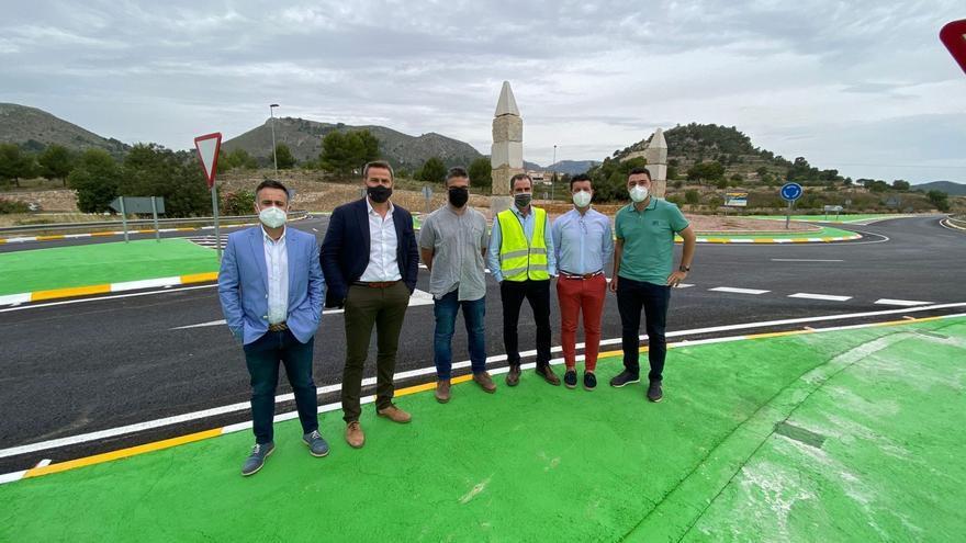 La Diputación concluye las obras de la carretera Monóvar-La Romana