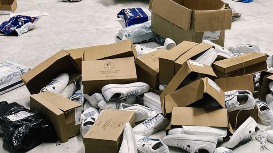 Roban en la empresa de zapatos valenciana que ha equipado al equipo paralímpico