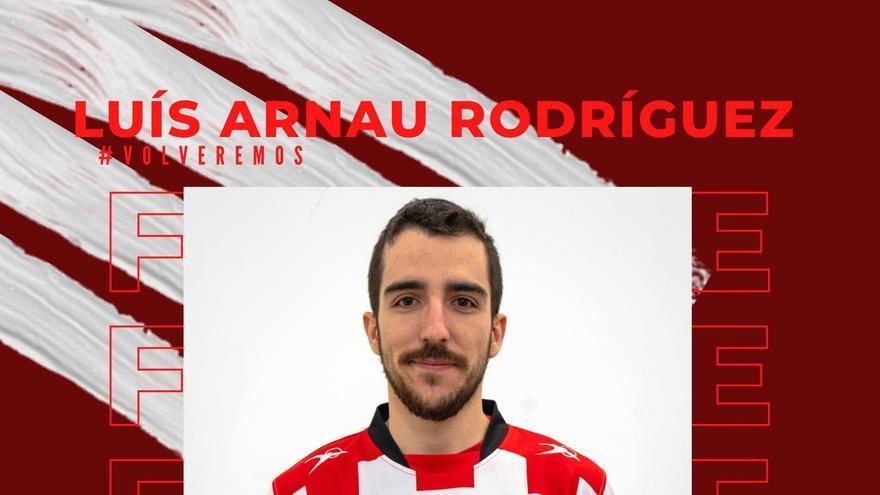 El porteño Luis Arnau ficha por el primer equipo del Fertiberia BM Puerto Sagunto