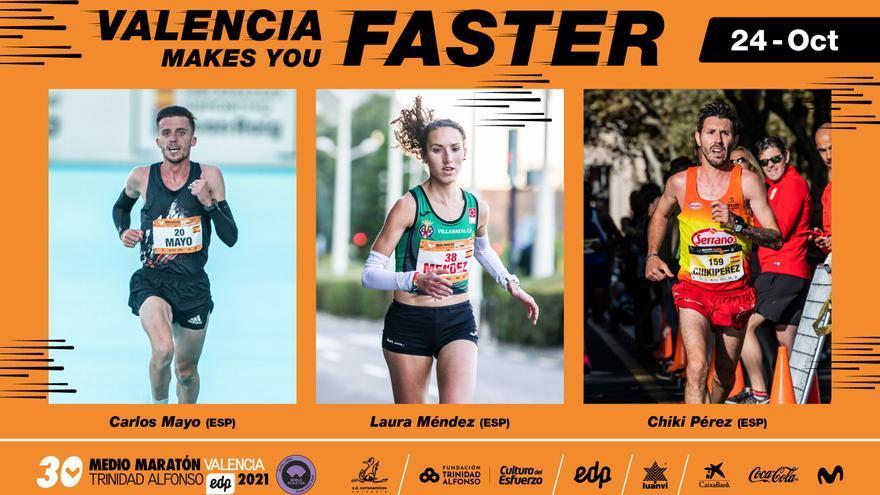 El Medio Maratón y el Maratón de València reunirán a la élite española