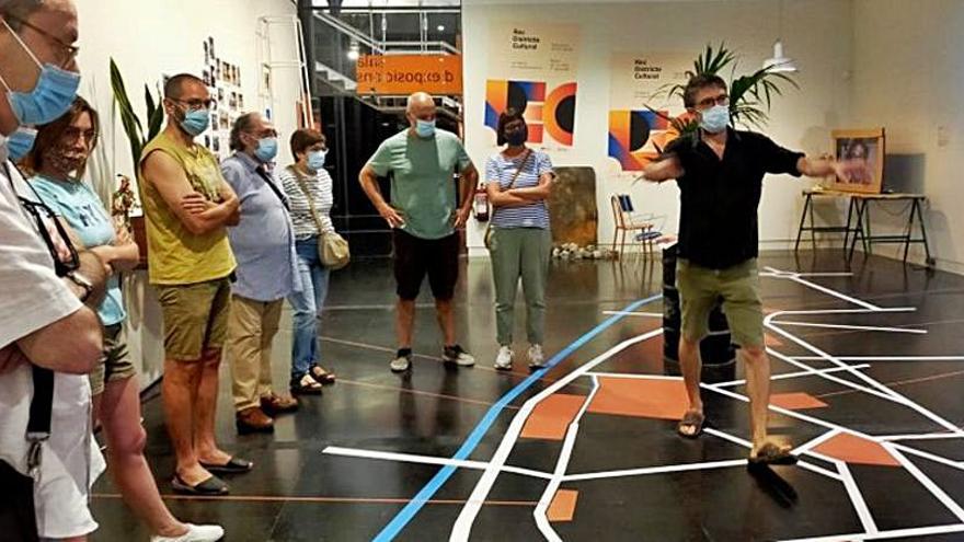 El Museu de la Pell organitza dues noves visites guiades de «Rec districte Cultural. Un barri en transformació»
