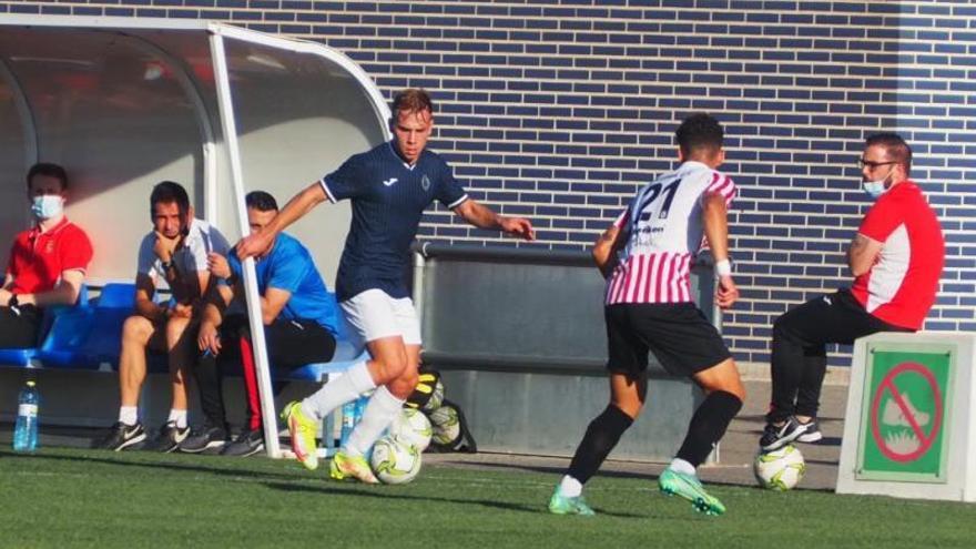 El CF Gandia pincha en l'Olleria (1-0) y anota su tercera derrota