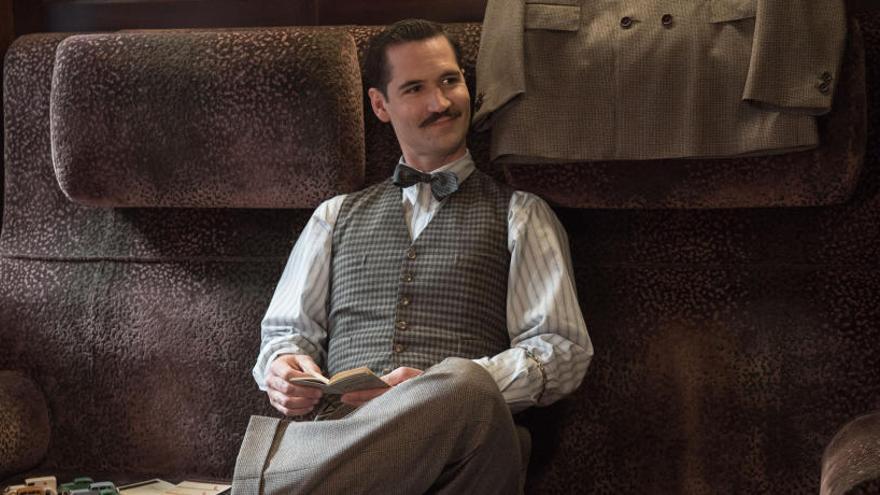 Manuel García Rulfo se codea con la elite de Hollywood en el Orient Express