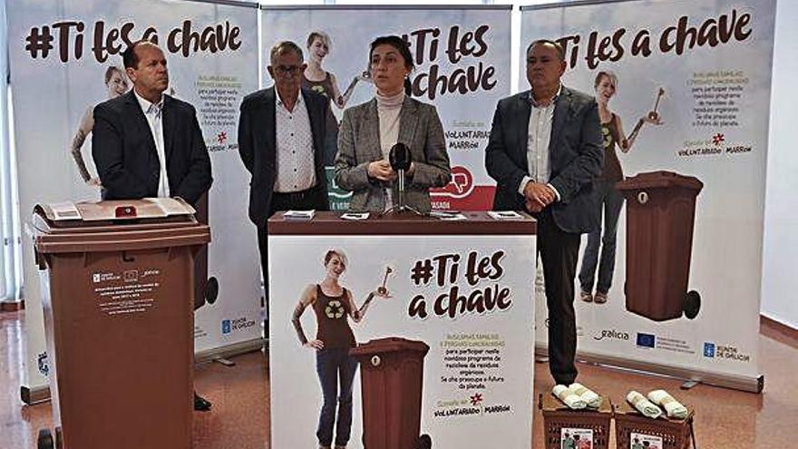 A Laracha y Carballo estrenarán la planta de compostaje de Sogama