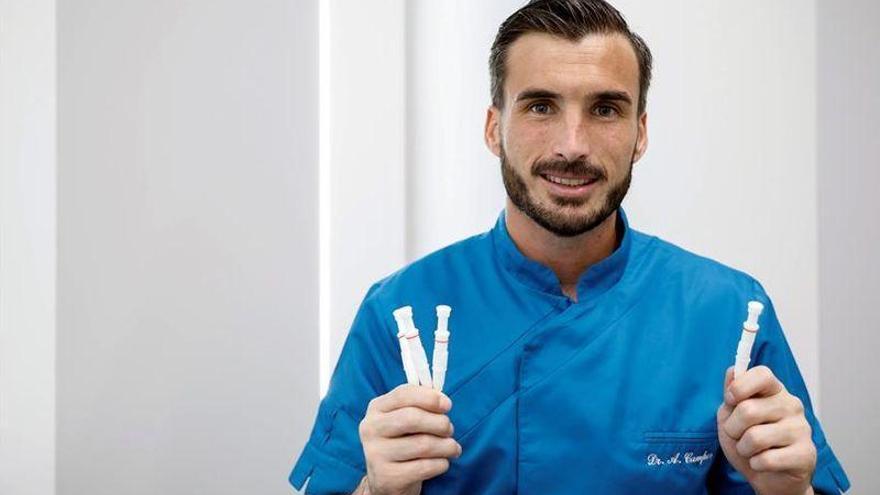 El cirujano capilar que para penaltis en el Castellón