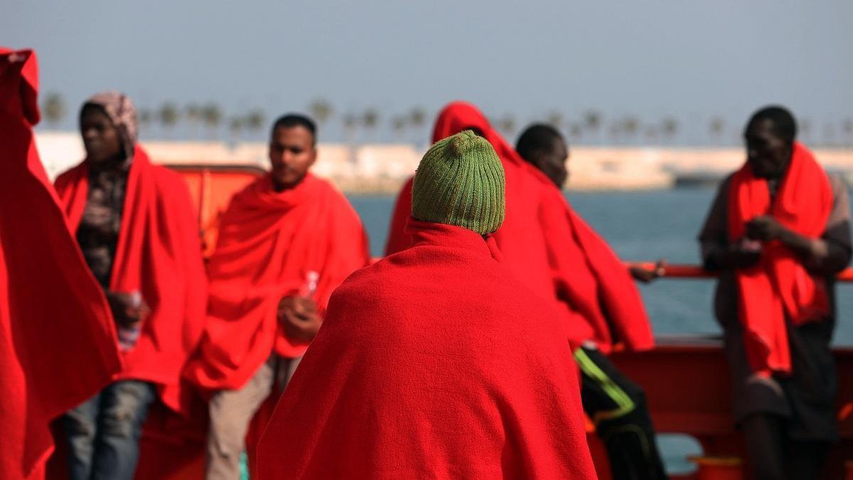 Llegan a Málaga por mar 505 inmigrantes hasta mediados de mayo