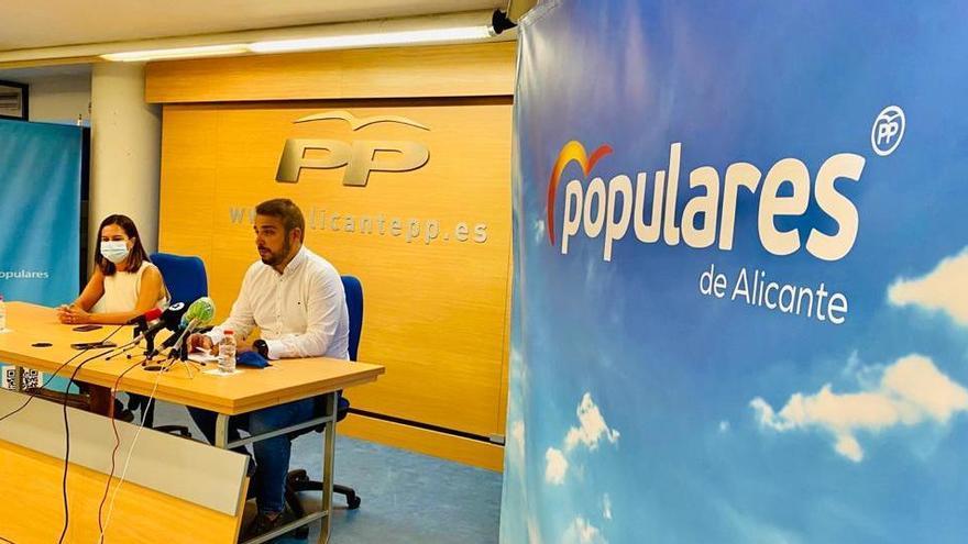 Desembarco sin precedentes de Génova para bendecir el liderazgo de Mazón en el PP de Alicante
