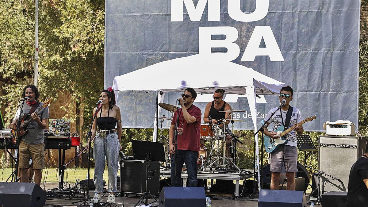 Mubaza Fest en las Aceñas de Cabañales durante el año pasado.