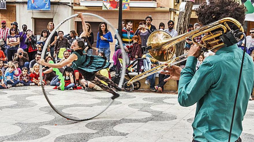 El octavo encuentro de artistas de calle regresa a Petrer en mayo
