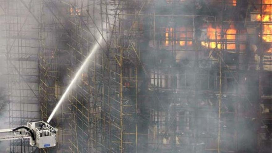 Un incendio en un centro de artes marciales en China deja al menos 18 muertos