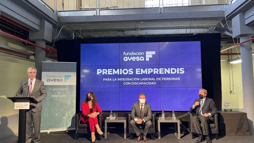 Fundación Prode recibe el premio Emprendis 2021 de Fundación Ayesa