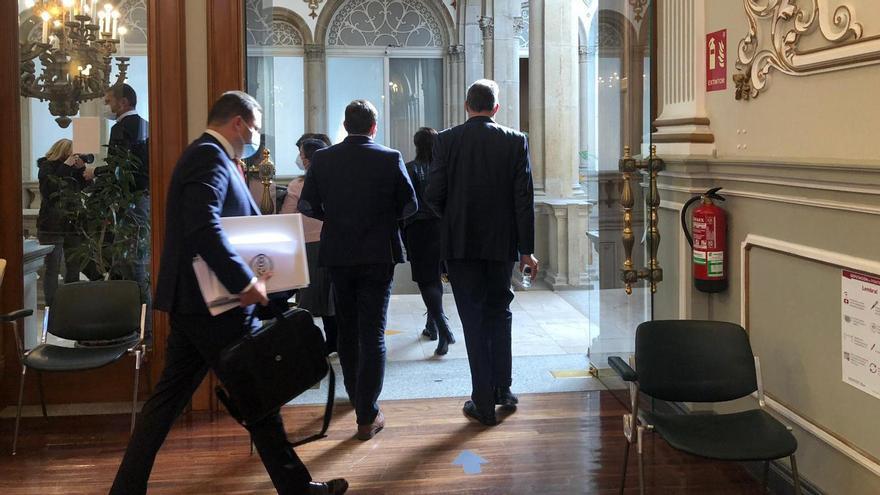 El PP abandona el pleno provincial antes de la aprobación de los presupuestos