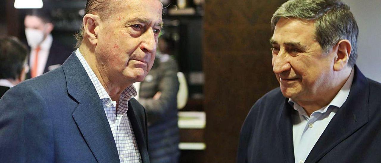 Manuel Vega-Arango y Lendorio, ayer, en Prendes.