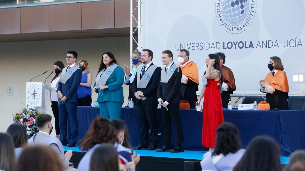 Graduación del campus cordobés de Loyola