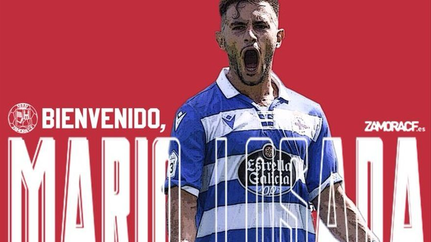 Mario Losada, tercer fichaje del Zamora CF para la temporada 2021-2022 en Primera RFEF
