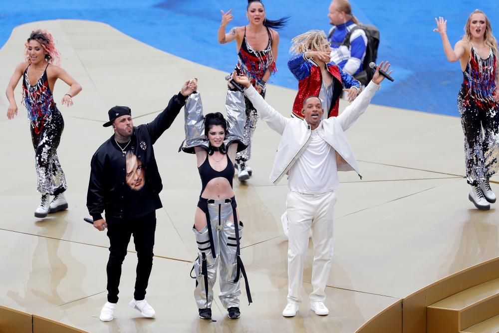 Ceremonia de clausura del Mundial de Rusia 2018
