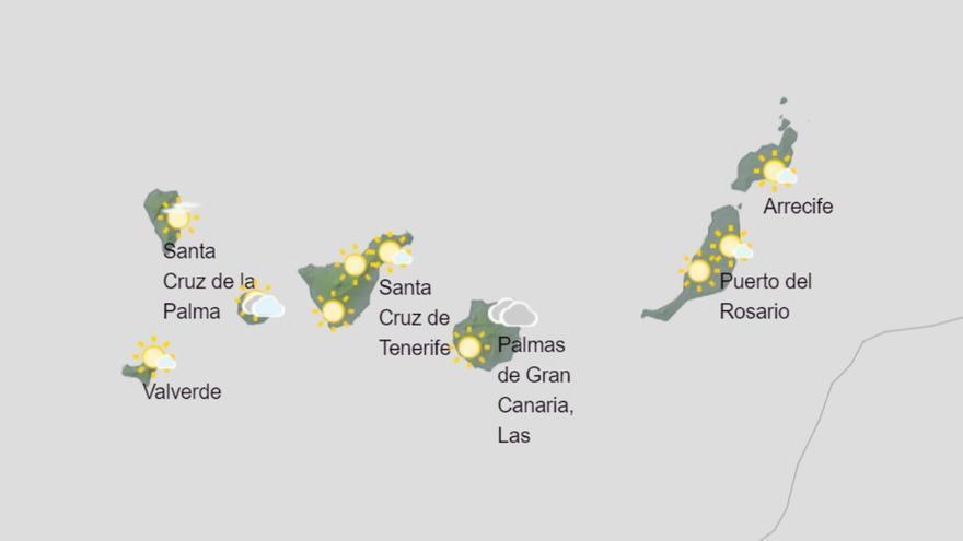 Canarias espera rachas muy fuertes de viento este miércoles